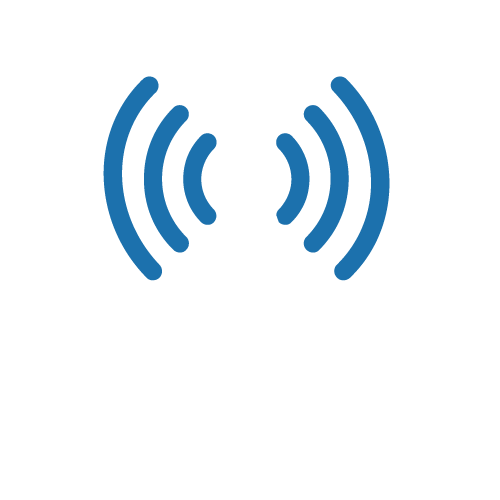 broadcast antenna icon to illustrate DCB service