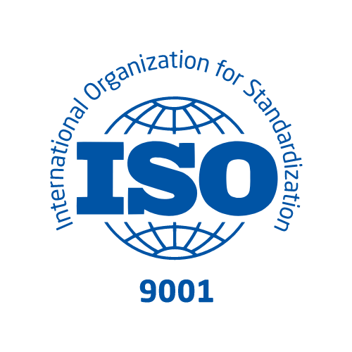 ISO 9001 certification for quality management